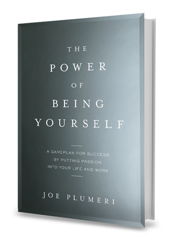 joe plumeri book power of being yourself