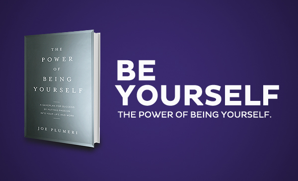 joe plumeri be yourself